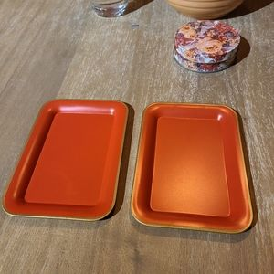Vintage Social Supper Trays!